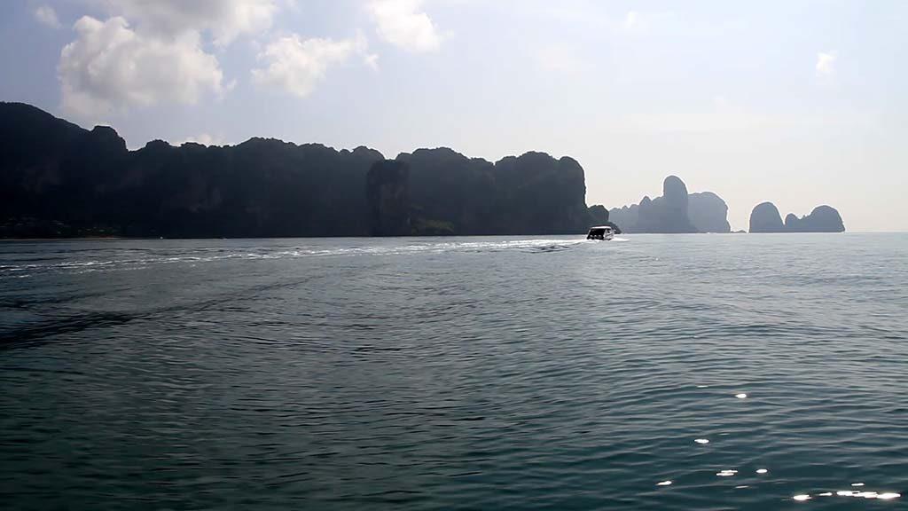 Krabi coast, Andaman Sea.