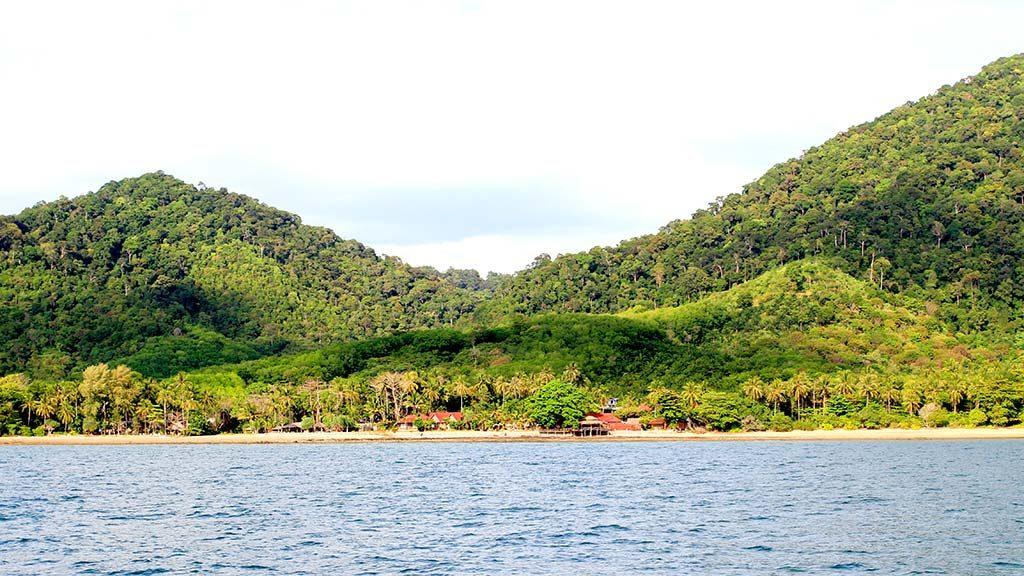 Koh Lanta coast.