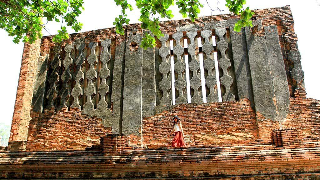 Vihan of Wat Mahathat, Ayutthaya.