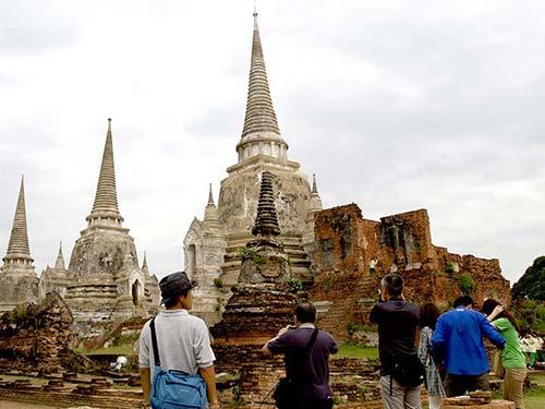 Stupas in the monastery Phra Si Sanphet, Ayutthaya.