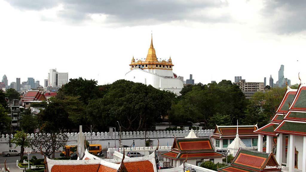 Wat Saket and the Golden Mountain.