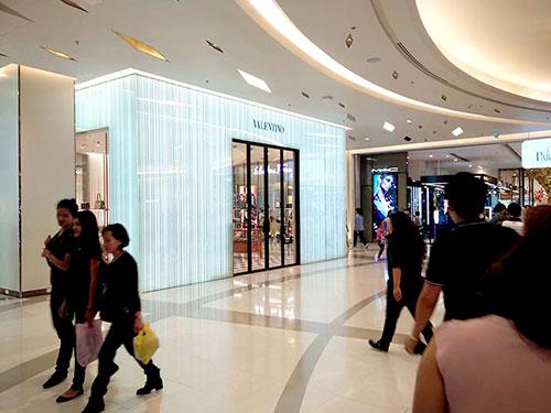 Siam Paragon mall.