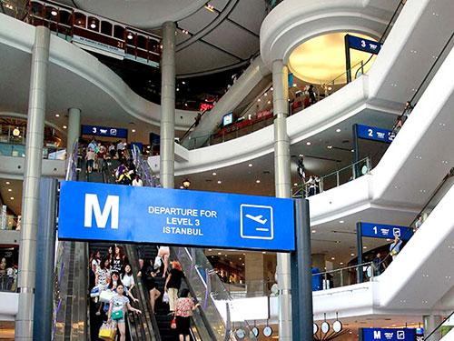 Terminal 21 mall.