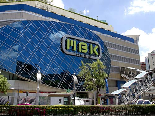 MBK mall.