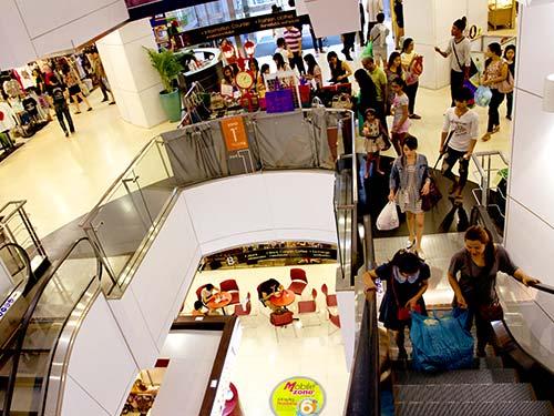 Platinum Fashion mall.