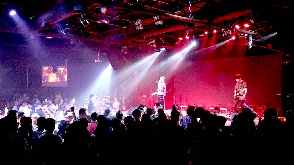 Fake Nightclub in Bangkok.