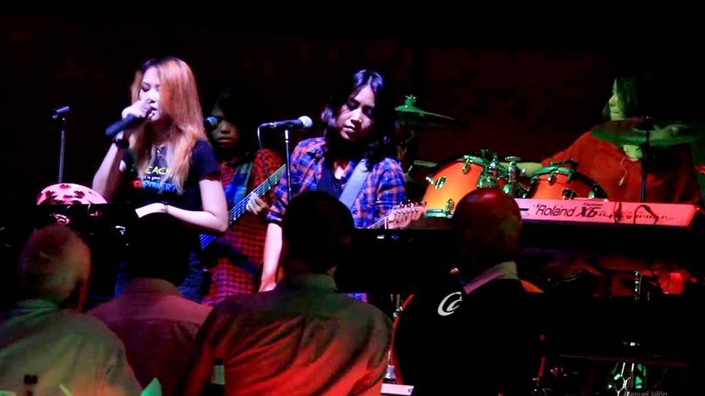 Titanium nightclub Ice bar in Bangkok.
