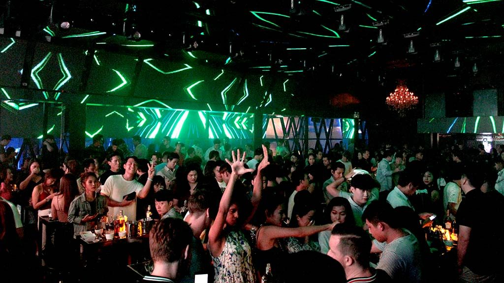 Route 66 nightclub in Bangkok