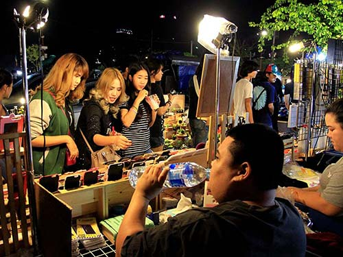 JJ Green Night Market, Bangkok.