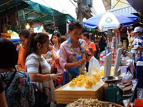 Street market in Bangkok.