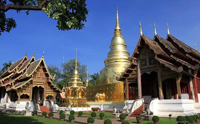 Renowned Buddhist monastery in Chiang Mai.