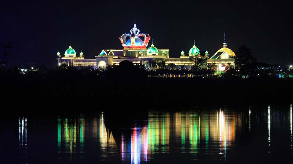 Casino in Laos.