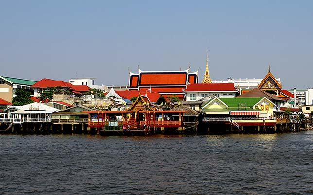 Chao Phraya River, Bangkok.