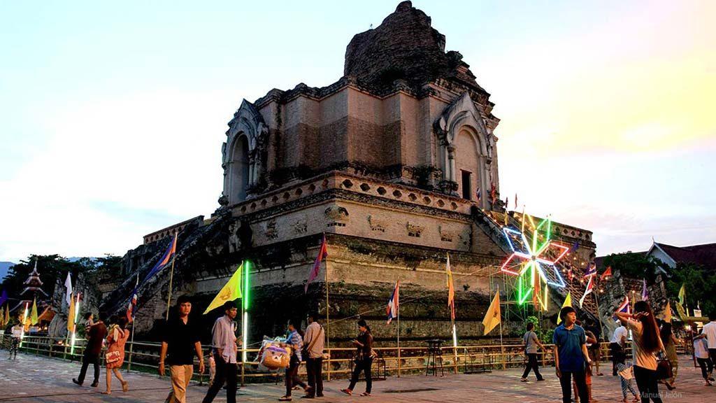 Stupa, Wat Chedi Luang.