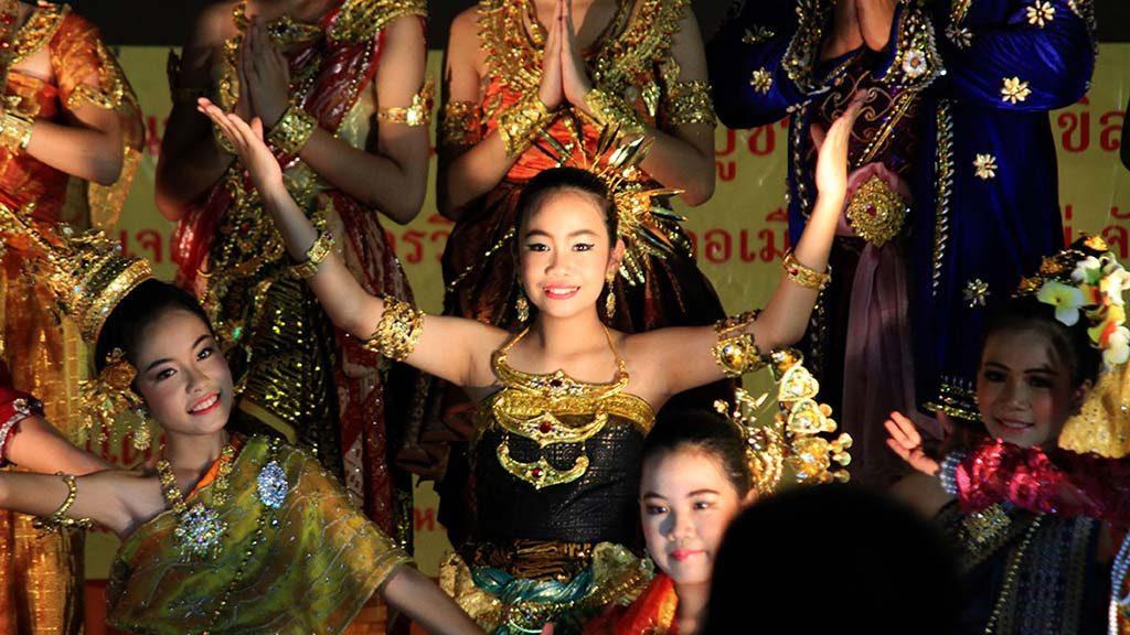 Inthakin City Pillar Festival, Chiang Mai.