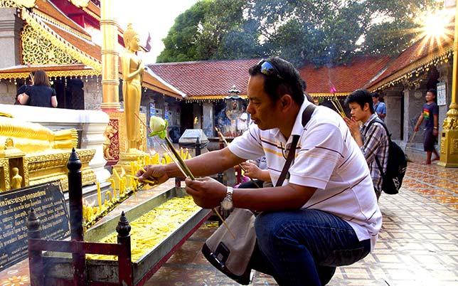 Wat Doi Suthep, Chiang Mai.