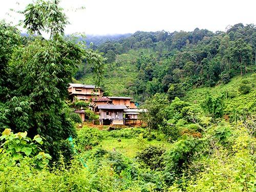Karen village, Chiang Dao National Park.