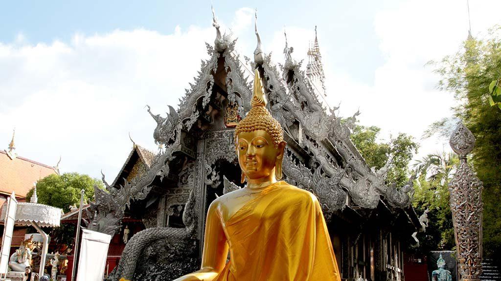 Wat Sri Suphan, Chiang Mai.