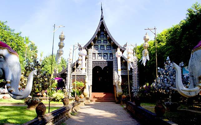 Lok Molee a wonderful monastery in Chiang Mai.