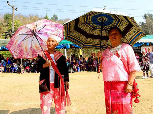 Women living in the north of Chiang Rai.