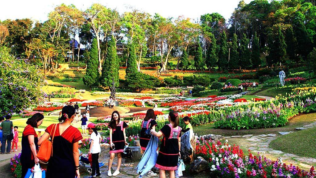 Mae Fah Luang gardens, Doi Tung.
