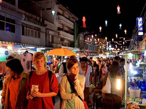 Chiang Rai Street Market.