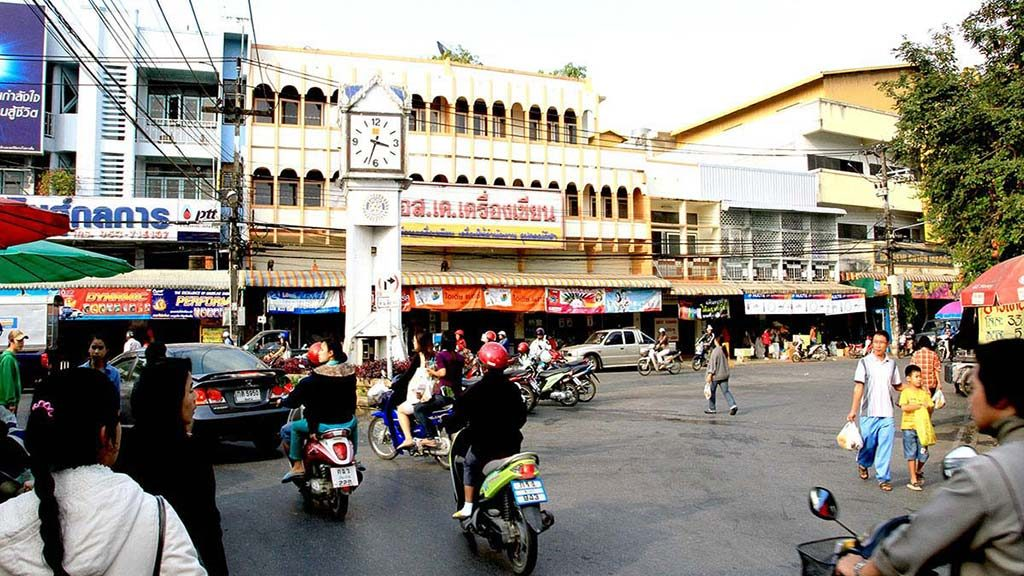 Market Square in Chiang Rai