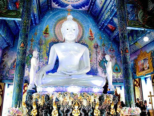Wat Rong Suea, Chiang Rai.