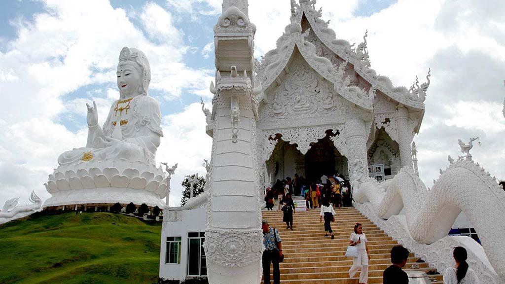 Wat Huai Pla Kang complex, Chiang Rai.