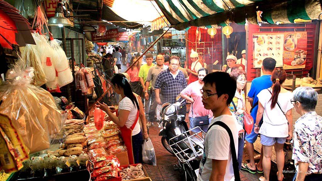 Sampeng Lane, Chinatown, Bangkok.