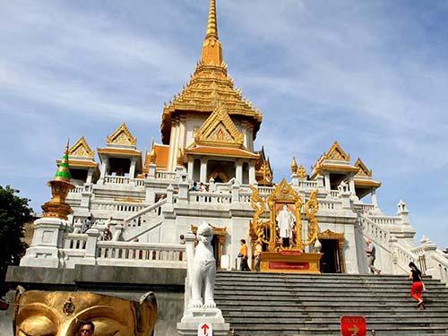 Wat Traimit, Chinatown.