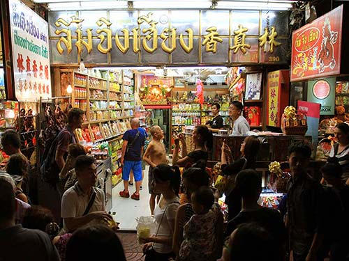 Store in Chinatown.