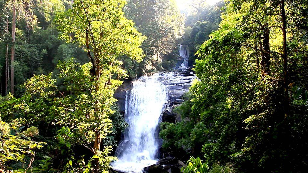Sirithan waterfall.