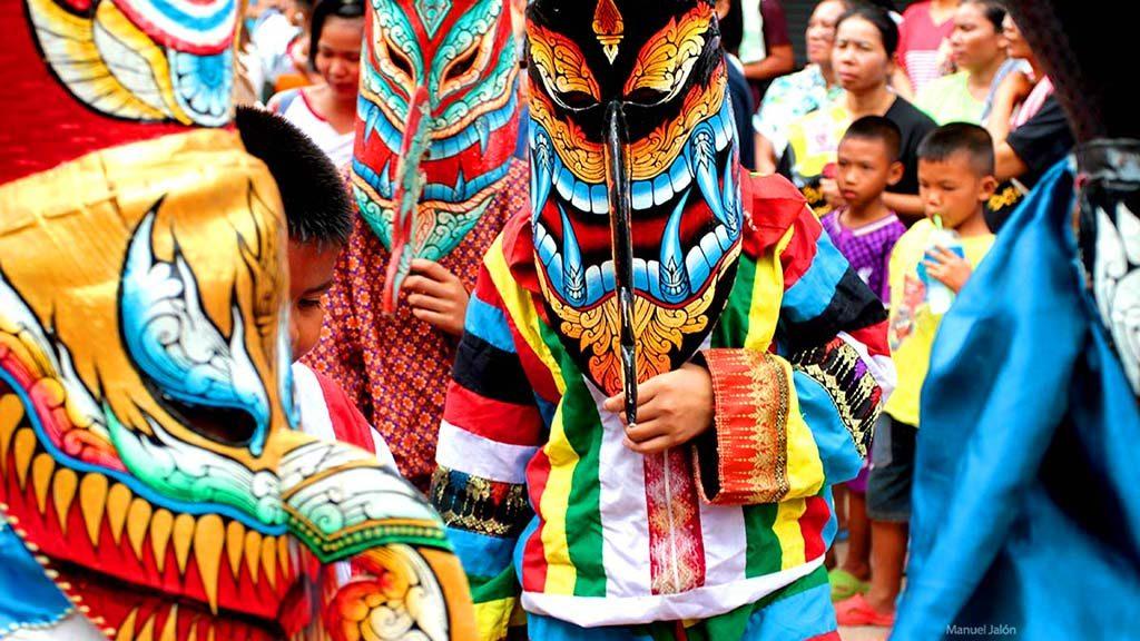 Phi Ta Kon festival, Loei.