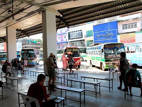 Terminal 1 Bus Station, Chiang Rai.