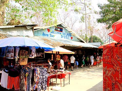 Market in Laos.