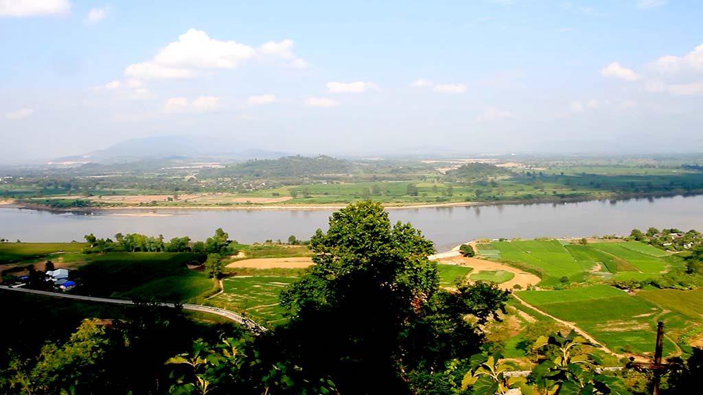 Mekong River.