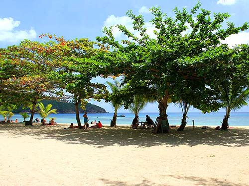 Koh Pha Ngan beach.