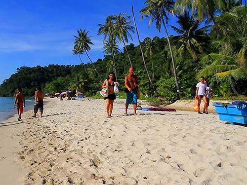 Beach of Koh Chang.