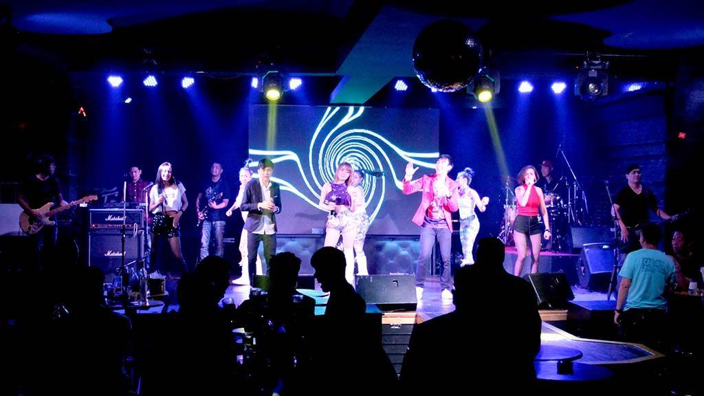 Hollywood Night Club, Bangkok.