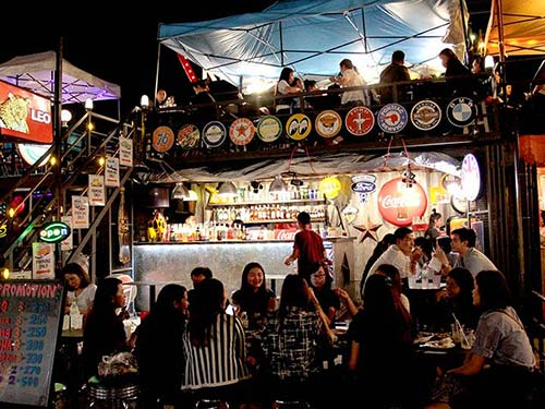 Rod Fai Ratchada Night Market.