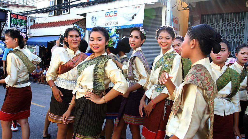 Parade in Surin