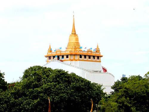 Wat Saket, Golden Mountain.