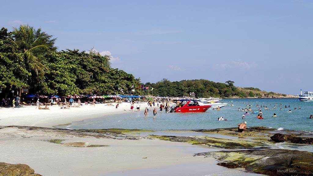 Koh Samet beach.