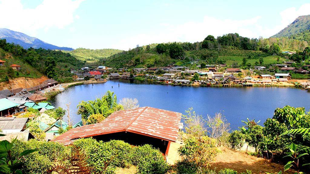 Ban Rak Thai. Chinese village, Mae Hong Son.