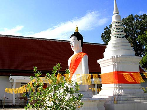 Buddhist monastery in Pai.
