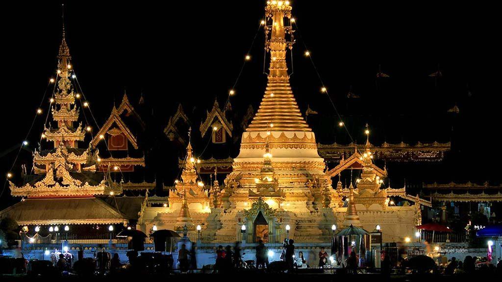 Wat Chong Kham, Mae Hong Son.