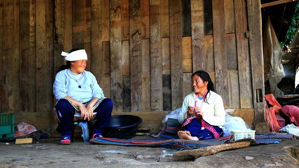 Hill tribes in Mae Hong Son.