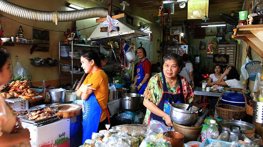 Wan Lang market.