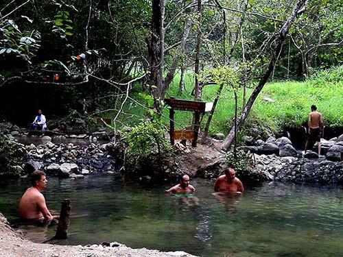 Tha Pai Hot Springs.